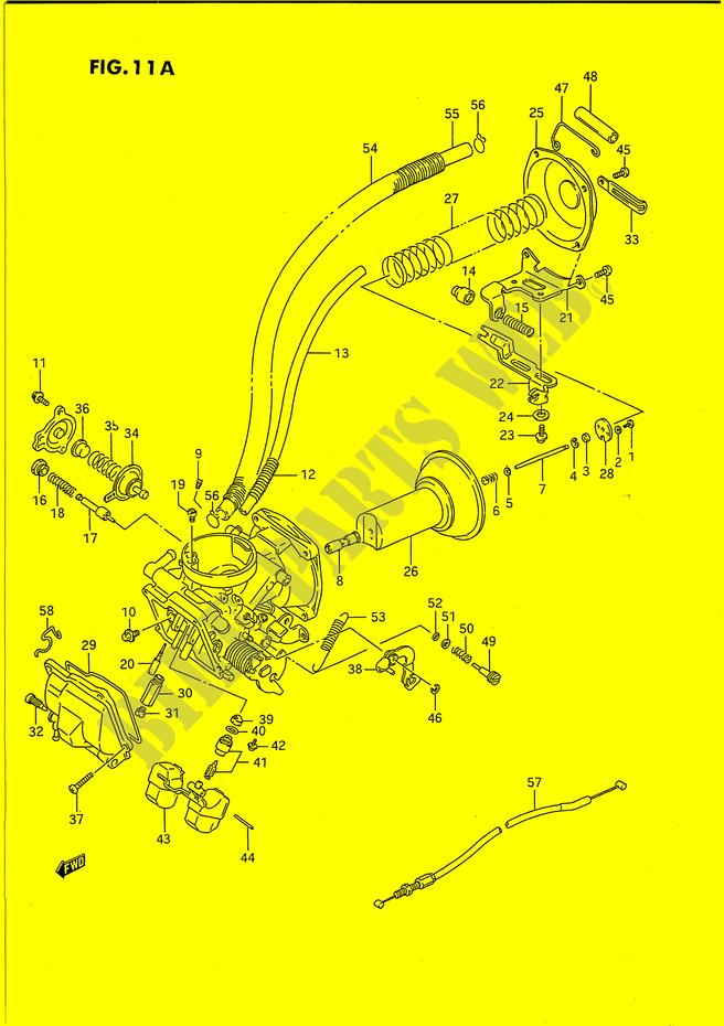 Suzuki Intruder 1400 Carburetor Diagram