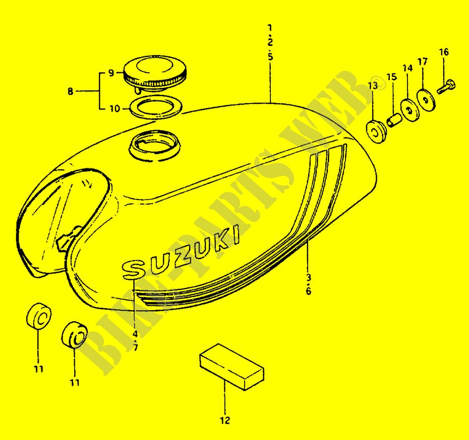 Suzuki Zr50 Wiring Diagram Online Manuual Of Fuel Tank Body Frame Zr50kx X 1999 Zr 50 Moto Motorcycle Rh Bike Parts Suz Com 230 Quadsport Radio