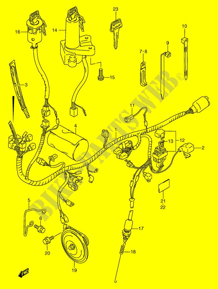 Suzuki Tf 125 Wiring Harness | Wiring Diagram