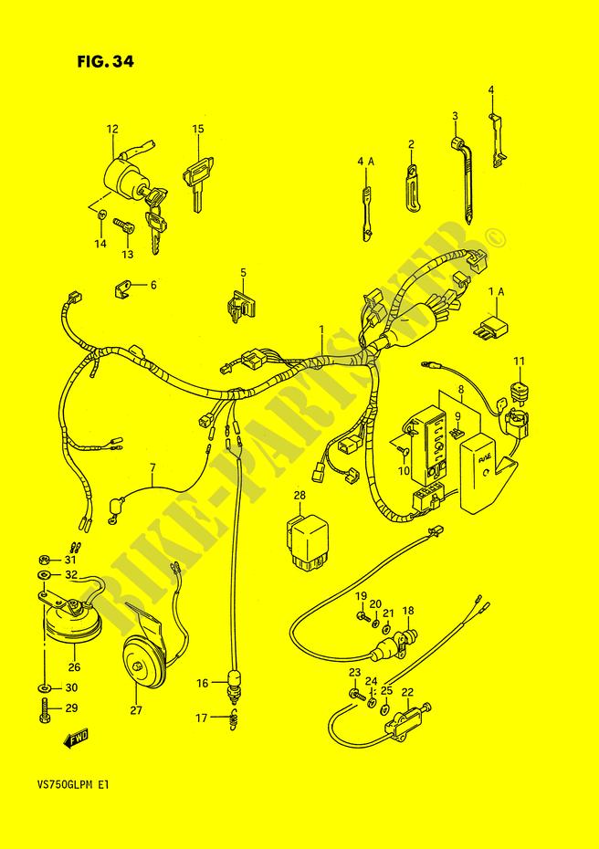 Suzuki Intruder 750 Wiring Diagram - Wiring Diagram Sessions on