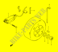 IGNITION for Suzuki MINIQUAD-SPORT 50 2005