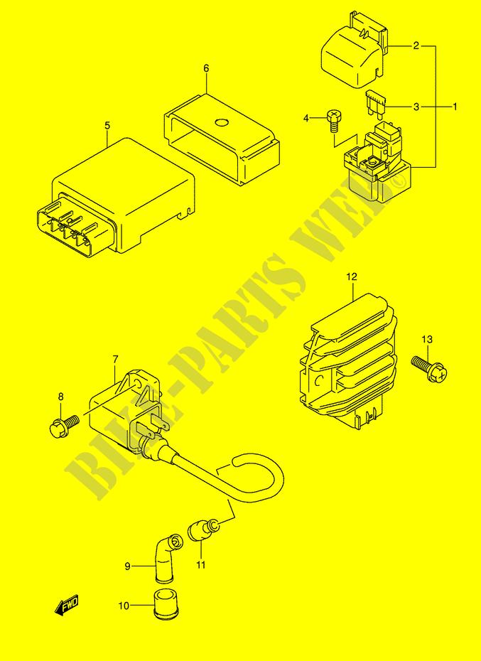 Suzuki Eiger 400 Wiring Diagram And Parts Pictures