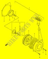 CARBURETOR (MODEL Y/K1/K2/K4) for Suzuki 2001 # SUZUKI