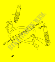 SUSPENSION ARM for Suzuki MINIQUAD-SPORT 50 2005