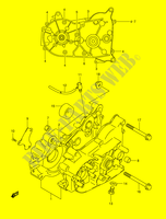 CRANKCASE for Suzuki MINIQUAD-SPORT 50 2005