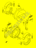 FRONT BRAKE for Suzuki MINIQUAD-SPORT 50 2005