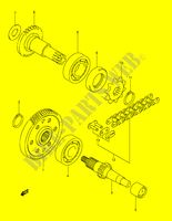 TRANSMISSION for Suzuki MINIQUAD-SPORT 50 2005