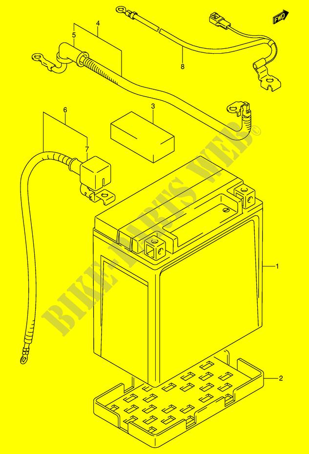 Fein Suzuki Eiger 400 Schaltplan Bilder - Elektrische ...