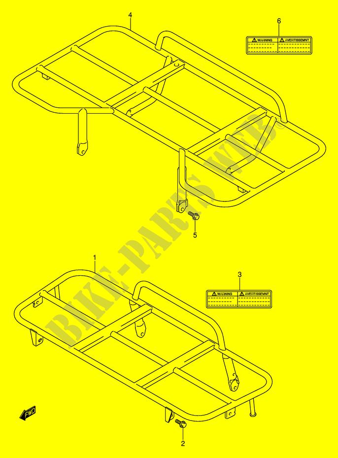 suzuki quad 400 eiger- 2005 lt-a400fk5(p3/p28) body/