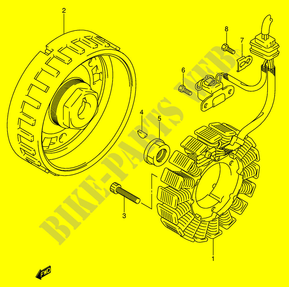 Ignition Electrical Lt A700xk5 E17 2005 Kingquad 700 Quad Suzuki King Wiring Diagram A700xk5e17