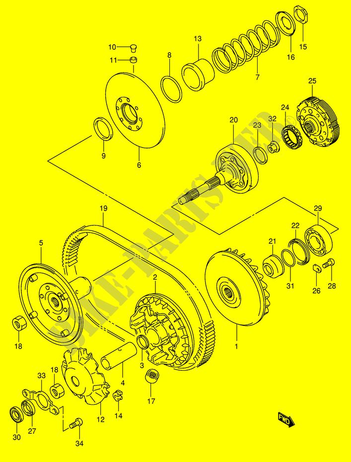 TRANSMISSION (1) for Suzuki 2005 # SUZUKI MOTORCYCLES