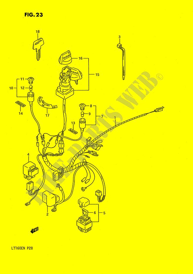 Suzuki King Quad Wiring Diagram