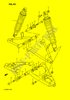 SUSPENSION ARM (MODEL H/J/K/L/M) for Suzuki QUADRACER 250 1990