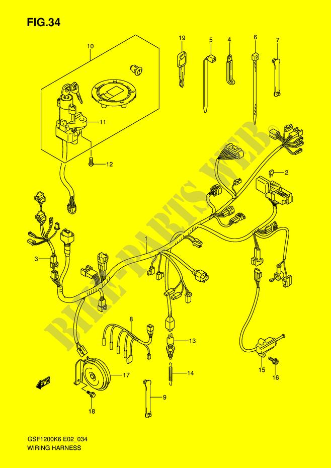 suzuki bandit wiring diagram. Black Bedroom Furniture Sets. Home Design Ideas