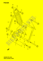 SHOCK ABSORBER LINKAGE (MODEL K4/K5/K6) SUSPENSION/BRAKES/WHEELS 500 suzuki-motorcycle GS-F 2006 DP037689