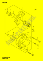 WATER PUMP  UH125K6(P2) K6 2006 Motorcycle Suzuki microfiche diagram