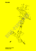 STEERING COLUMN (GS500FK4/K5/K6) SUSPENSION/BRAKES/WHEELS 500 suzuki-motorcycle GS 2005 DP039845