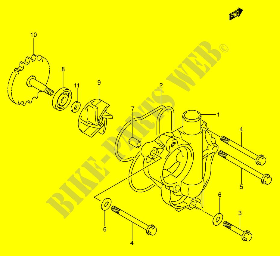 Suzuki MOTO 450 RM-Z 2006 RM-Z450K6(E3/E28) ENGINE