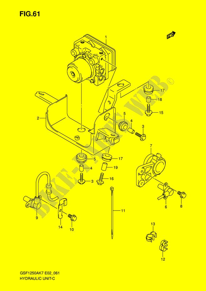 ABS SYSTEM (GSF1250AK7/SAK7/AK8/SAK8/AK9/SAK9/SAZK9/SL0/SAL0) for