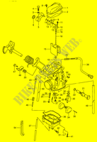 CARBURETOR  DR350V(E1) V 1997 Motorcycle Suzuki microfiche diagram