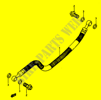 REAR BRAKE HOSE for Suzuki GS 1150 1986