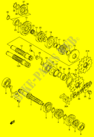TRANSMISSION for Suzuki DR 200 2004