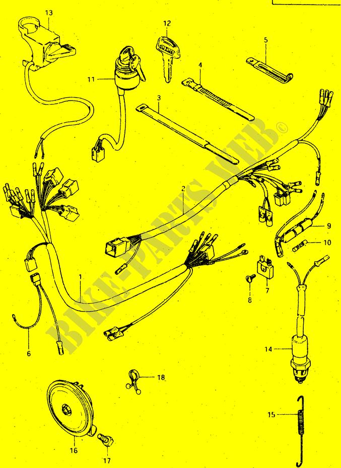 Suzuki Dr 500 Wiring Diagram Vehicle Diagrams Lt 300: Suzuki Quadrunner 500 Wiring Diagram At Eklablog.co