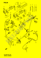 WIRING HARNESS (MODEL K2/ K3)  UH125K6(P2) K6 2006 Motorcycle Suzuki microfiche diagram