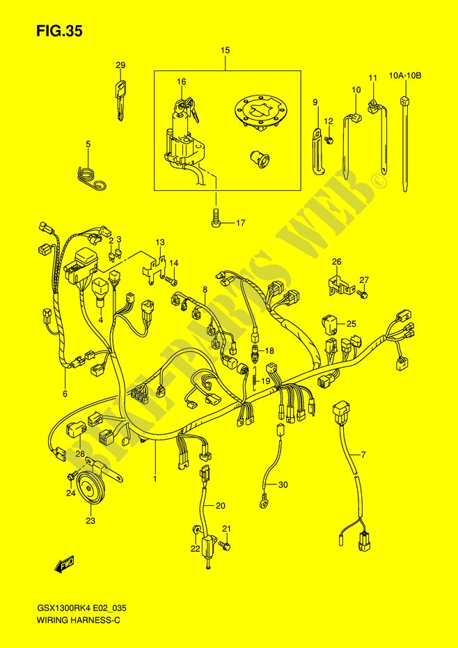 Peachy Hayabusa Wiring Harness Basic Electronics Wiring Diagram Wiring Cloud Philuggs Outletorg