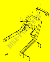 BACKREST for Suzuki GS 1150 1986
