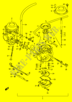 CARBURETOR (MODEL R) for Suzuki GS-E 500 1992
