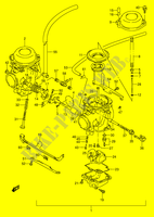 CARBURETOR (MODEL T) for Suzuki GS-E 500 1992