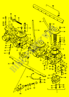 CARBURETOR for Suzuki GS 1150 1986