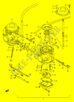 CARBURETOR for Suzuki GS-E 500 1996