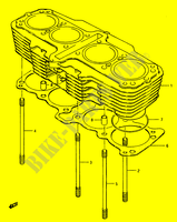 CYLINDER ( E.NO,101424) for Suzuki GS 1150 1986