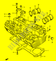 CYLINDER HEAD for Suzuki GS 1150 1986