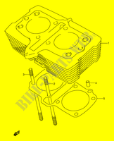CYLINDER for Suzuki GS-E 500 1992