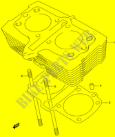 CYLINDER for Suzuki GS-E 500 2003