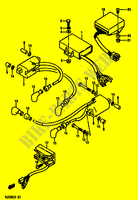 ELECTRICAL for Suzuki GS-E 500 1990