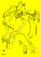 ELECTRICAL for Suzuki TEMPTER 650 1984