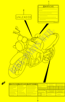 LABEL for Suzuki GS-E 500 2003