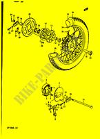 Ignition Switch for 1990 Suzuki GP 100 UL Front /& Rear Drum