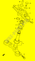 STEERING COLUMN (GS500FK4/FUK4) SUSPENSION/BRAKES/WHEELS 500 suzuki-motorcycle GS 2004 DP009598