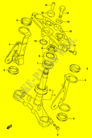 STEERING COLUMN (GS500K4/UK4) SUSPENSION/BRAKES/WHEELS 500 suzuki-motorcycle GS 2004 DP010636