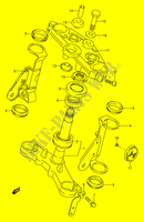STEERING COLUMN for Suzuki GS-E 500 1992