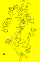 STEERING COLUMN for Suzuki GS-E 500 1996