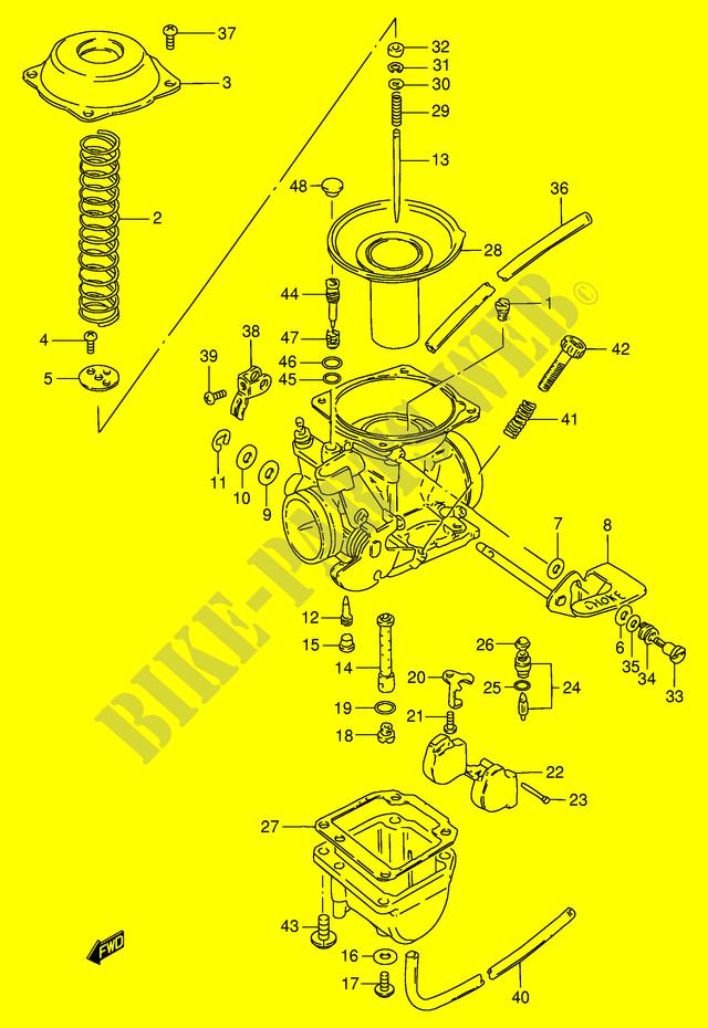 Suzuki GN 125 carburator diaphragm NEW