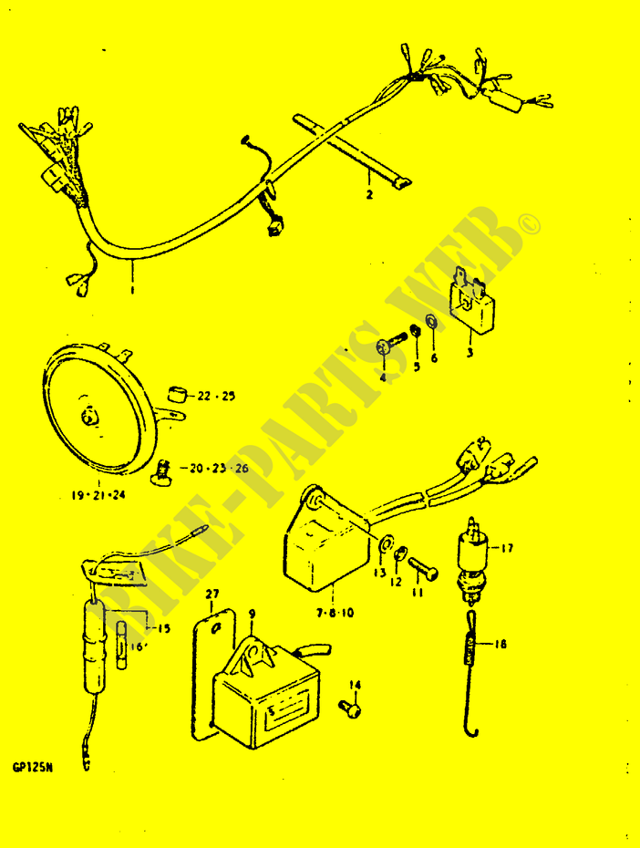 Suzuki Gp 125 Wiring Diagram