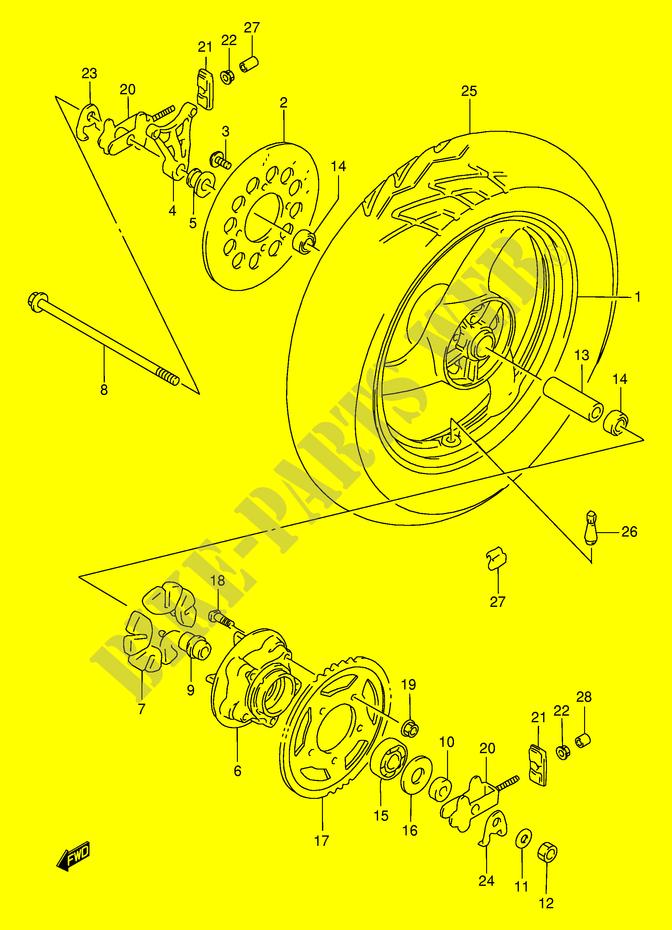 SUZUKI MOTORCYCLES - Genuine Spare Parts Catalog