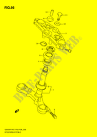 STEERING COLUMN (GS500FH) SUSPENSION/BRAKES/WHEELS 500 suzuki-motorcycle GS 2007 DP051868